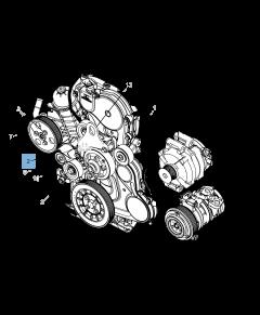 Tendeur de courroie réglable pour Jeep Cherokee