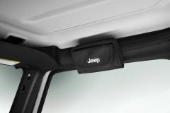 Étui à lunettes de soleil avec logo Jeep
