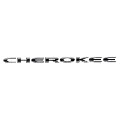 Sigle modèle Cherokee sur porte avant pour Jeep Cherokee