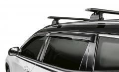 Déflecteurs d'air pour vitres latérales avant et arrière