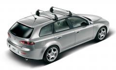 Barres de toit en aluminium pour Alfa Romeo 159