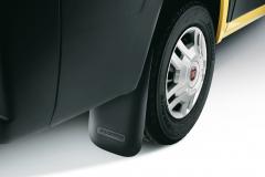 Bavettes arrière en caoutchouc pour Fiat Professional Ducato