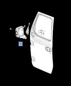 Rétroviseur pour Jeep Wrangler