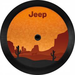 Couverture de roue de secours Deserto
