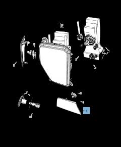 Ampoule indicateur de position et clignotant pour Jeep Cherokee