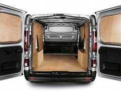 Protections du passage de roues en bois pour van L1