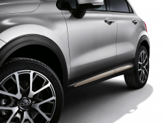 Finitions latérales beige pour portes de Fiat 500X