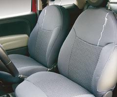 Housse de siège avec logo 500 pour Fiat 500