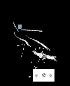 Avant et Arrière Kit De Véritable HQ Automotive Aero Plat Balais d/'essuie-glace ADM42-421HQ11G