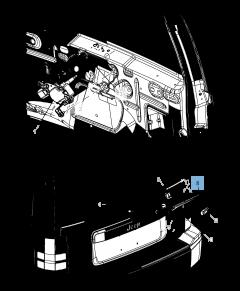 Balai d'essuie-glace arrière pour Jeep Cherokee