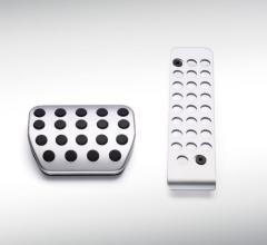 Pédalier sportif en aluminium pour boîte de vitesses automatique