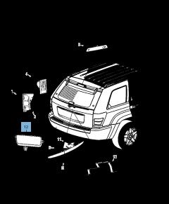 Antibrouillard pour Jeep Grand Cherokee