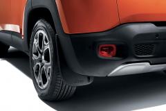 Bavettes arrière profilées pour Jeep Renegade