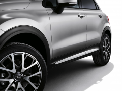 Finitions latérales blanches pour portes de Fiat 500X