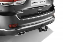 Crochet d'attelage rétractable pour Jeep Grand Cherokee