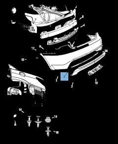 Ampoule feu arrière pour Lancia Flavia