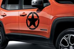 Autocollants pour portes «Us Army Star»
