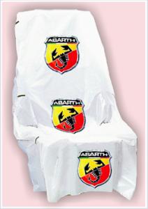 Housses avec logo Abarth