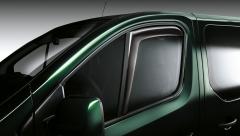 Déflecteurs d'air de vitres avant pour Fiat Professional Talento
