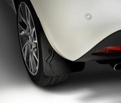 Bavettes arrière en caoutchouc pour Lancia Ypsilon