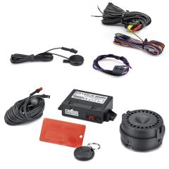 Système antivol à alarme volumétrique pour Fiat 500