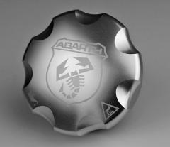 Bouchon d'huile en aluminium pour Abarth 500