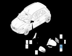 Clignotant latéral pour Fiat Sedici