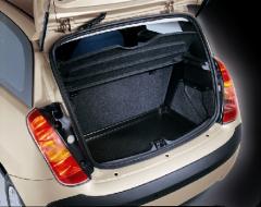 Protection semi-rigide de coffre à bagages pour Lancia Ypsilon
