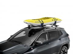Porte-kayak de toit pour Jeep Wrangler