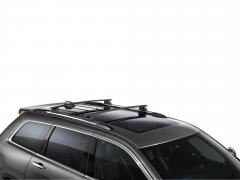 Barres de toit en aluminium pour Jeep Grand Cherokee
