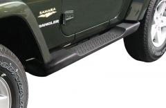 Kit de marchepieds pour plates-formes latérales situées sous la porte pour Jeep Wrangler