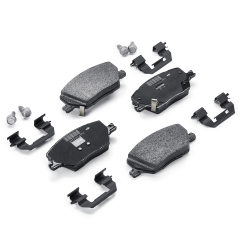 Plaquette de frein à disque arrière (jeu de 4 pièces) pour Fiat Croma