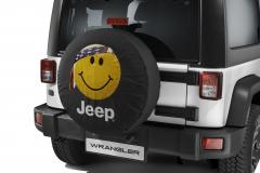 Couvre roue de secours avec image Smile