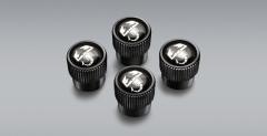 Bouchons de valves de pneus avec logo scorpion pour Abarth 124 Spider