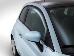 Déflecteurs avant pour vitres latérales de Fiat 500