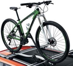 Porte-vélos à monter sur barres de toit