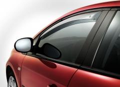Déflecteurs anti-turbulences avant pour vitres latérales de Fiat Bravo
