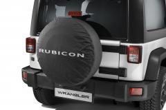 Couvre roue de secours avec logo Rubicon