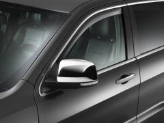 Déflecteurs d'air surteintés de vitres latérales avant pour Jeep Grand Cherokee
