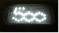 Ampoules LED avec logo 500