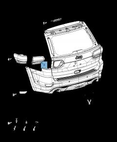 Feu de recul pour Jeep Grand Cherokee