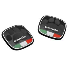 Badge Panda avec drapeau italien
