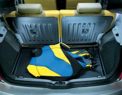Protection semi-rigide de coffre pour Fiat Panda