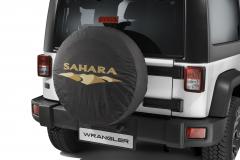 Couvre roue de secours avec logo Sahara