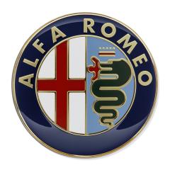 Écusson Alfa Romeo de capot moteur pour Alfa Romeo