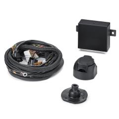 Câblage électrique de crochet d'attelage à 7/13 broches pour Fiat et Fiat Professional Qubo