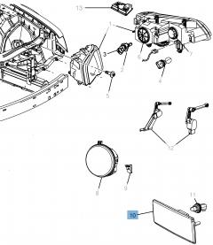 Ampoule de clignotant pour Lancia Thema
