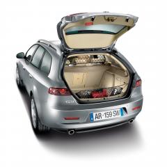 Filet de séparation de transport d'animaux pour Alfa Romeo 159