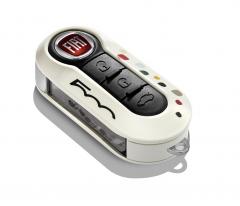 Coque de clé pour Fiat 500