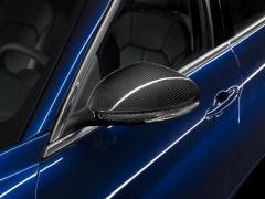Coque de rétroviseurs en fibre de carbone pour Alfa Romeo Giulia